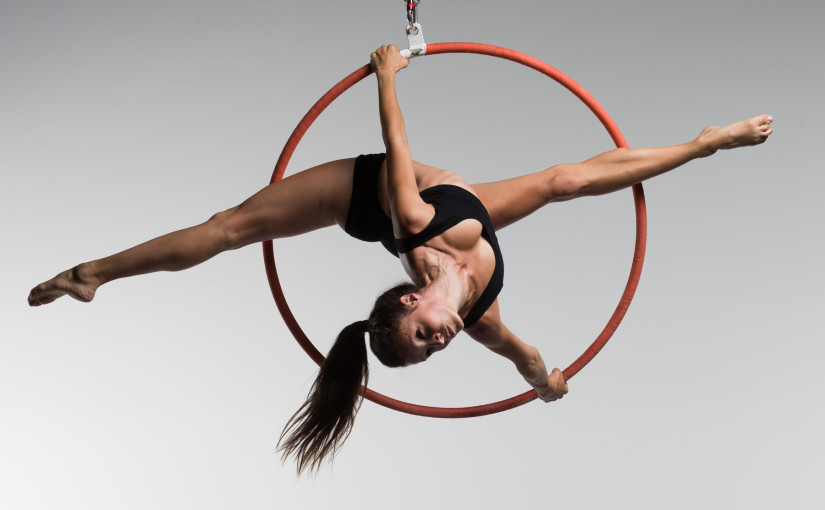 Bodies in Motion IV:  aerial