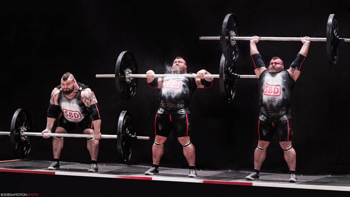 BiM at the World's Strongest Man