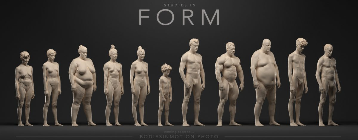 Coming soon… 3d Studies in Anatomy and Body Variations